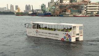 東京湾をクルージング
